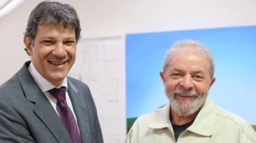 Lula deve receber primeira visita de Haddad na prisão nesta quinta (17)