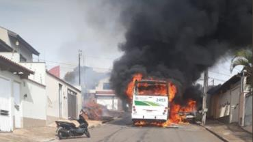 PM apreende quatro suspeitos de tentar incendiar ônibus em Minas Gerais