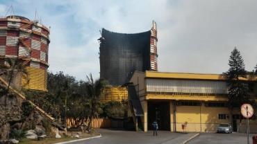 Gasômetro de usina da Usiminas explode em Ipatinga (MG)