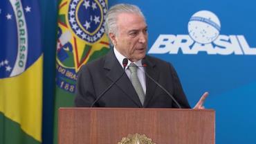 Temer recebeu R$ 5,9 milhões em propina do setor portuário, relata PF