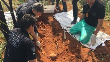Restos mortais de mulher assassinada em 2016 são encontrados em parque no DF