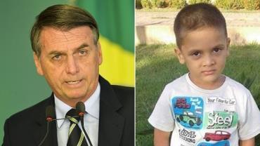Bolsonaro comenta caso Rhuan e lamenta não ter prisão perpétua no Brasil