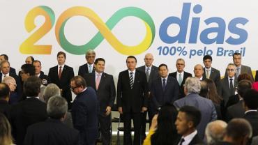 Jair Bolsonaro faz balanço dos 200 dias de governo