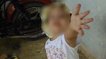 Menina de 3 anos morre vítima de bala perdida na cabeça em PE