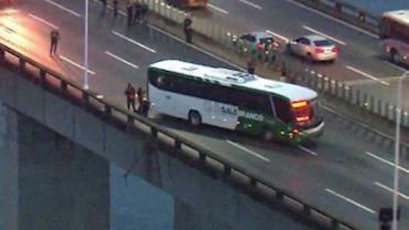 Polícia investiga se sequestrador de ônibus na Ponte Rio-Niterói teve ajuda