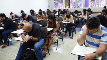 Encceja registra aumento de 67% no número de inscritos este ano