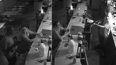 """Homem acende cigarro e desafia ladrão durante assalto: """"Atire em mim"""""""