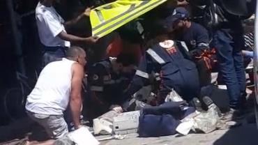 Homem sofre traumatismo craniano após cair de patinete elétrico em Belo Horizonte, MG