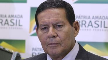Mourão: governo deve negociar com o Congresso com clareza e paciência