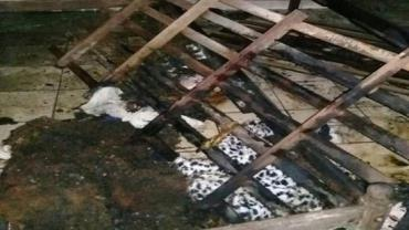 Incêndio em asilo deixa dois idosos com 80% do corpo queimado em MG