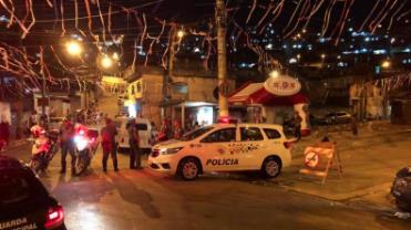 PM prende 65 pessoas em operações contra 'pancadões' em SP