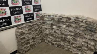 Operação apreende 600 quilos de cocaína em Fortaleza, CE