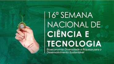 Semana nacional de ciência e tecnologia acontece de 21 a 27 de outubro