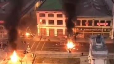 Protestos no Chile deixam três mortos em Santiago