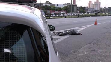 Adolescente de 16 anos é morto em troca de tiros com a PM na Via Anchieta, em SP