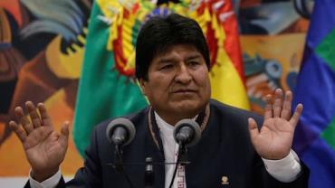 Morales não poderá disputar próxima eleição, diz presidente da Bolívia