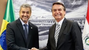 Presidente Jair Bolsonaro recebe líderes sul-americanos na 55ª Cúpula do Mercosul, em Bento Gonçalves