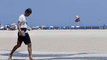 Temperatura chega a 40°C no Rio, com sensação térmica de 54°C