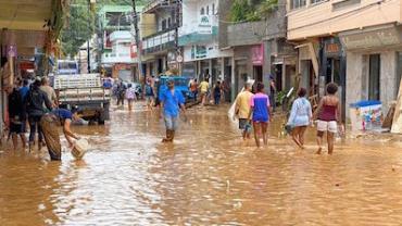 Chuvas no Espirito Santo devem continuar até sexta (24), diz Inmet