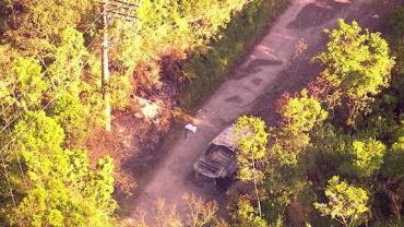 Corpos carbonizados são encontrados dentro de carro em São Bernardo do Campo