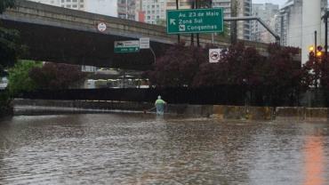 Chuvas deixam mais de 500 desalojados e 142 desabrigados em São Paulo