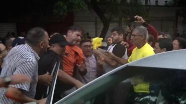 Senador Cid Gomes deixa a UTI do hospital após levar 2 tiros