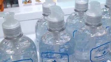 Grupo é preso por vender gel de cabelo como álcool gel no centro de SP