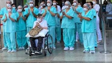 Aos 99 anos, brasileiro que lutou na 2ª Guerra Mundial tem alta após se curar do novo coronavírus