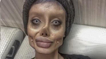 """""""Angelina Jolie Zumbi"""" está com Covid-19 em prisão no Irã, dizem advogados"""