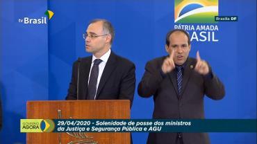 André Mendonça toma posse como ministro da Justiça e Segurança Pública
