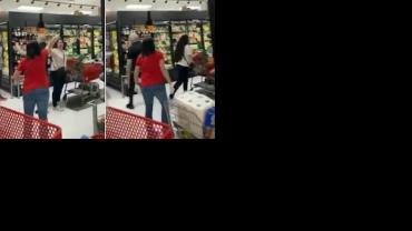 Mulher é expulsa de supermercado por não usar máscara