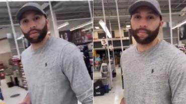 """Vídeo: Policial do caso George Floyd é confrontado em mercado: """"Não sente remorso?"""""""