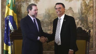 Toffoli deseja pronto restabelecimento a Bolsonaro e todos brasileiros