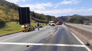 Homem causa acidente e mata os dois filhos em rodovia no interior de SP
