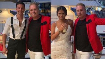 Empresário pede ex-namorado da filha em casamento durante passeio dos três juntos
