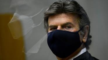 Novo presidente do STF, Luiz Fux, testa positivo para covid-19