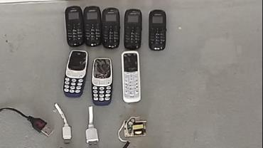 Homem é preso após tentar entrar em presídio com oito celulares no ânus
