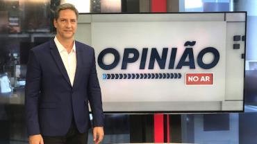 Luís Ernesto Lacombe estreia nesta segunda-feira (28) na RedeTV!