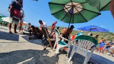 Tiroteio deixa um morto e 5 baleados na Prainha, em Arraial do Cabo (RJ)
