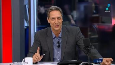 Opinião no Ar com Luís Ernesto Lacombe estreia como assunto mais comentado no Twitter