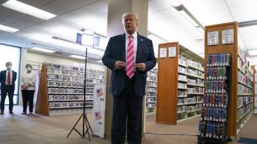 Trump expurga diretor que negou fraude em eleição