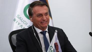 """""""Tempo vem provando que estávamos certos sobre pandemia"""", diz Bolsonaro ao G20"""