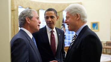 Obama, Bush e Clinton se oferecem para tomar vacina em público