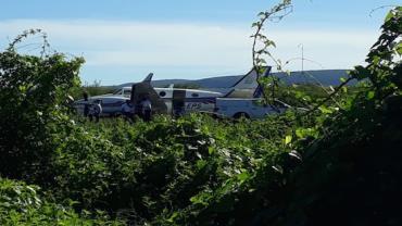 Avião que transportava vacina da Covid-19 bate em jumento durante pouso na Bahia