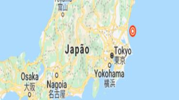 Japão levanta alerta de tsunami após forte terremoto no nordeste