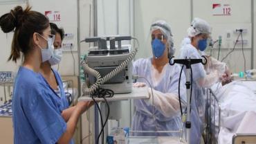 Hospitais particulares de São Paulo apresentam queda nas internações por Covid-19