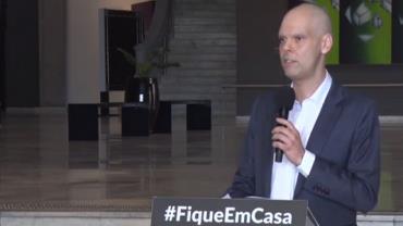 Bruno Covas permanece internado para tratar câncer e não tem previsão de alta