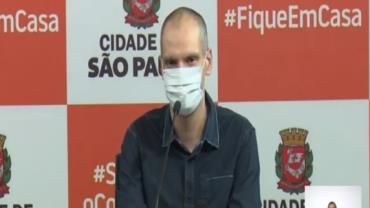 Prefeito Bruno Covas recebe alta