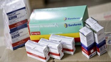 Medicamentos doados pelo governo da Espanha chegam ao Brasil