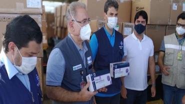 Maranhão recebe 600 mil testes rápidos contra covid-19